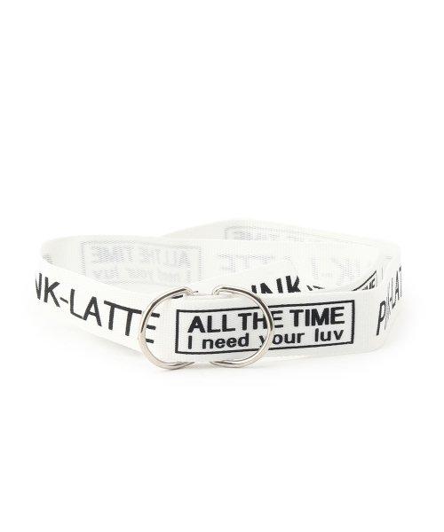 PINK-latte(ピンク ラテ)/メッセンジャー リングベルト/99990932041034