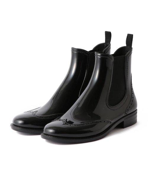 Demi-Luxe BEAMS(デミルクスビームス)/Traditional Weatherwear / ウイングチップ サイドゴア レインブーツ/64310037118