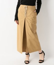 SLOBE IENA/レースアップタイトスカート/501021009