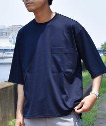 SHIPS JET BLUE/SHIPS JET BLUE: ポケット ビッグTシャツ/500756194