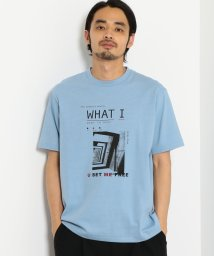 green label relaxing/SC AND RIDE WAHT I プリント Tシャツ/500998433
