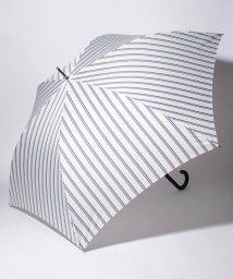 Afternoon Tea LIVING/レジメンタルストライプ柄長傘 雨傘/501008432
