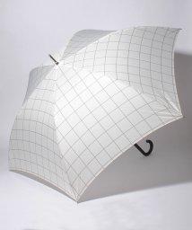 Afternoon Tea LIVING/ウィンドウペン柄長傘 雨傘/501008433