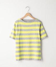 coen/起毛スラブボーダーTシャツ/501009585
