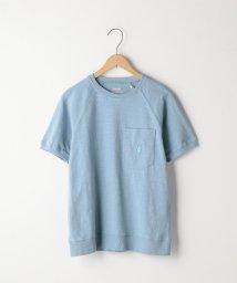 coen/起毛スラブラグランスリーブポケットTシャツ/501009586