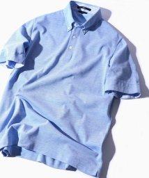 SHIPS MEN/SC: COOLMAX(R) コットン/リネン カノコ ボタンダウン ポロシャツ/501021152