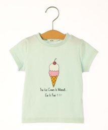 SHIPS KIDS/SHIPS KIDS:ベビー ダブルアイスクリーム プリント TEE(80~90cm)/501021202