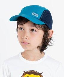 SHIPS KIDS/SHIPS KIDS:サイド メッシュ キャップ【耐久撥水性】/501021208