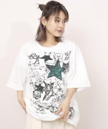 DOUBLE NAME/画伯どうぶつ復刻プリントBIG Tシャツ/501021286