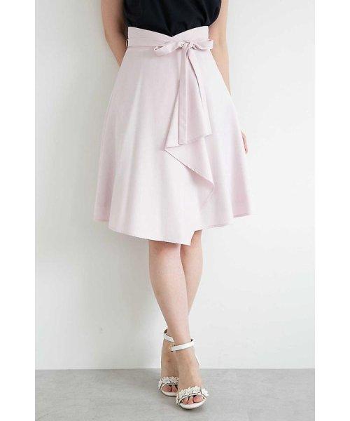 PROPORTION BODY DRESSING(プロポーション ボディドレッシング)/フレアーシャンブレースカート/1218120414
