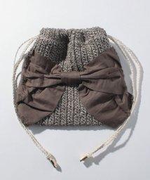 kakatoo /カカトゥ kakatoo / ペーパーリボン巾着バッグ/501007286