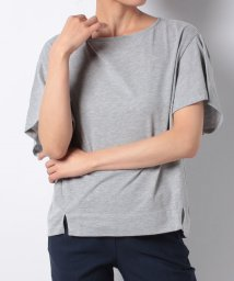 NICE CLAUP OUTLET/【natural couture】PPバルーンスリーブ風ドルマンTシャツ/501007513