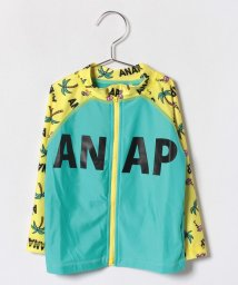 ANAP KIDS/【セットアップ対応商品】フラミンゴ×ヤシの木柄 ラッシュガード/501014434