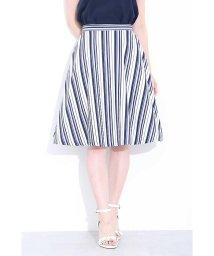 PROPORTION BODY DRESSING/ランダムストライプスカート/501021410