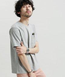 nano・universe/ポケット付きBig Tシャツ/500833160