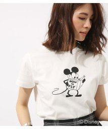 AZUL by moussy/モノクロ OLD MICKEY TEE/501008143