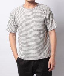 URBAN RESEARCH/【ROSSOMEN】パイルビッグシルエットボーダーTシャツ/501008230