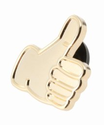 EDIFICE/PINTRILL / ピントゥリル Thumbs Up Pin - Gold/501026100