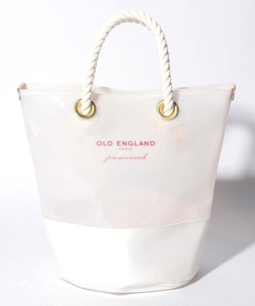 OLD ENGLAND(オールド イングランド)/WEB限定【OEPP】ロゴトートバッグ/58446011
