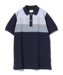 BEAMS MEN/BEAMS / クロス切り替え ポロシャツ/500980469