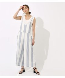 AZUL by moussy/BIG STRIPE オールインワン/501008157