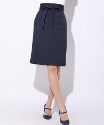 Viaggio Blu/【洗濯機OK&セットアップ対応】アムンゼンサッシュベルト付きスカート/501026300