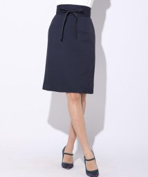 Viaggio Blu/≪大きいサイズ≫【洗濯機OK&セットアップ対応】アムンゼンサッシュベルト付きスカート/501026306