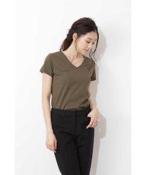 NATURAL BEAUTY BASIC/NEWベーシックTシャツ Vネック/501026362