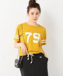 SLOBE IENA/FOOTBALL Tシャツ/501027193