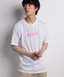 STYLEBLOCK/BOXロゴ胸刺繍Tシャツ/501005715