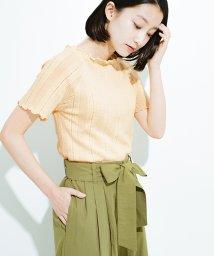 haco!/スカートにもパンツにも合う ぴったりめがかわいい透かし柄ニット/501013310