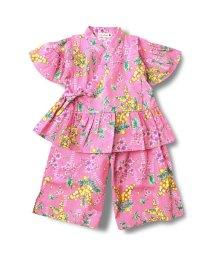 branshes/ミモザ柄甚平ドレス/501027909