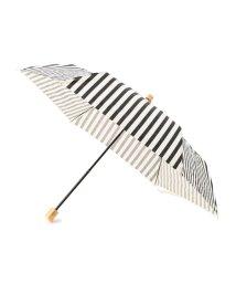 SHIPS WOMEN/ストライプ折りたたみ晴雨傘/501029630