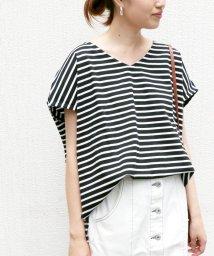 SLOBE IENA/《WEB限定》ルーズVネック NIS Tシャツ/501029765
