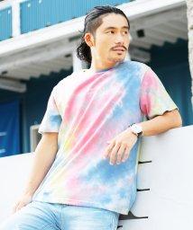Roshell/タイダイ染めロゴプリントTシャツ/501029844