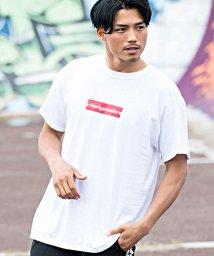 CavariA/CavariA×MARK GONZALES【キャバリア×マークゴンザレス】ロゴプリントクルーネック半袖Tシャツ/501030861