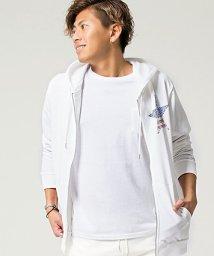 CavariA/CavariA【キャバリア】ラインストーン付き長袖ジップアップパーカー/501030869