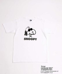 Au BANNISTER/AuBANNISTER×SNOOPY Tシャツ【予約】/501033352
