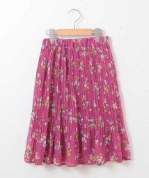 a.v.v(KID'S)/[100-130]花柄プリーツスカート[WEB限定サイズ]/500915186