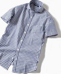 SHIPS MEN/SC: カラミ セミワイドカラー ショートスリーブシャツ/501034551
