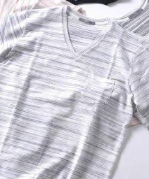 SHIPS MEN/SU: コブラ タック Vネック Tシャツ/501034557