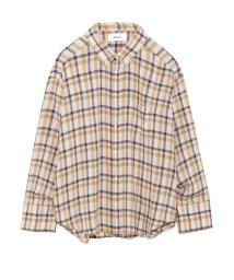 Mila Owen/【TVドラマ着用】ベーシックボタンダウンシャツ/501035075