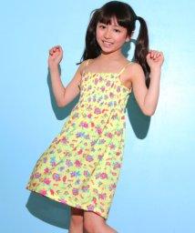 ANAP KIDS/花柄シャーリングワンピース/501033077