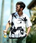 JIGGYS SHOP/レーヨン アロハシャツ / アロハ シャツ メンズ 半袖 柄シャツ 開襟 オープンカラー/501035570