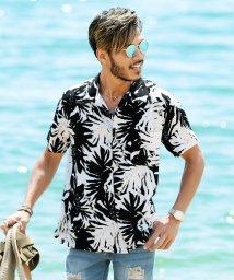 JIGGYS SHOP/レーヨン アロハシャツ / アロハ シャツ メンズ 半袖 柄シャツ 開襟 オープンカラー/501035862