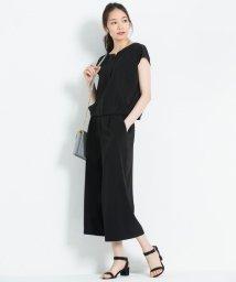 JIYU-KU /【洗える】NOIE ストレッチ ワイドパンツ/500962810