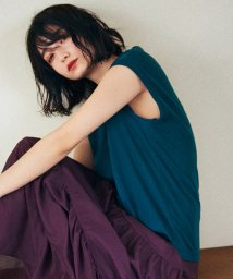 BEAUTY&YOUTH UNITED ARROWS/BY∴ ドライコットンノースリーブカットソー/500981966