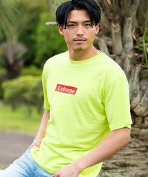 CavariA/(キャバリア)CavariA メンズ ボックスロゴ胸刺繍クルーネック半袖Tシャツ/501036514