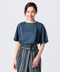 NIJYUSANKU/【UVケア】カールマイヤージャージー 袖フレアカットソー/501039148