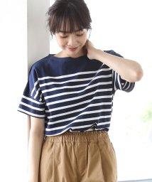 coen/ナバルボーダーTEE(Tシャツ)II/501039192
